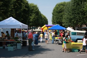 A Day at the Market N.C. Research Campus Farmers Market..Kannapolis, N.C., 2009. Photo by Justin Moore