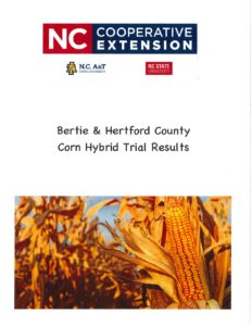 Corn Hybrid Trial Results page 1