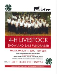 Cover photo for 4-H Livestock Show and Sale Fundraiser!