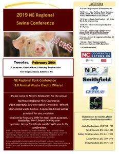 Cover photo for 2019 NE Regional Swine Conference