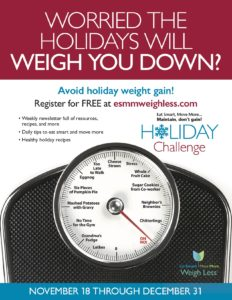 holiday challenge flyer