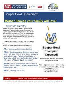 Cover photo for Souper Bowl Champion?