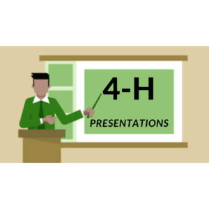 Cover photo for 2021 Virtual 4-H Presentations